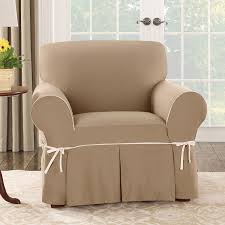 decor brown oversized chair slipcover with rug and french door