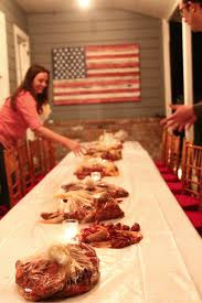 Crawfish Boil Table Decorations by Hosting A Crawfish Boil Hither U0026 Thither
