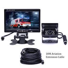RV Truck Bus Van Car IR Back Up Camera Night Vision System+7