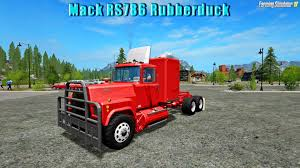 Mack RS786 Rubberduck V1.0 For FS 17 » Download FS 17 Mods For Free ... Rubber Duck Truck At Show Mack Rs 700 127x Mod For Ets 2 Damaged A Photo On Flickriver Mack Rubber Duck 16x Ats American True Rubber Duck Model I Built All Resin From Aitm Trucks Wwwmodelmasterukcom Truck Wip Pictures By Darstrom Deviantart Truckdriverworldwide Lego Trucks 1970 Rs731lst Bruno Flickr 3dartpol Blog April 2014 Big Rig Invitational Pulling Youtube Original Rs700 Of Caretakersmall Fleet