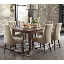 ashley d540 125 202 mestler 5 piece rectangular dining room table