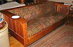 Craftsman Furniture Sofa Adorable Mission Living