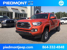100 Toyota Tacoma Used Trucks 2017 For Sale In Anderson SC VIN