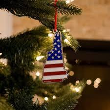New Hampshire USA Christmas Ornament
