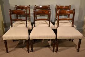 100 Regency House Furniture An Elegant Set Of Six Mahogany Dining Chairs 1820 United