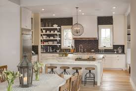 Black Subway Tile Kitchen