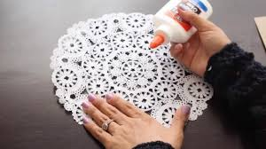 How To Make A DIY Rustic Doily Wedding Invitation