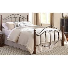 Metal Bed Full by Baxton Studio Optimus Metal And Wood Platform Bed Queen Black