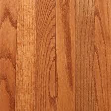 Gunstock Oak Hardwood Flooring Home Depot by Bruce Plano Oak Gunstock 3 4 In Thick X 2 1 4 In Wide X Random