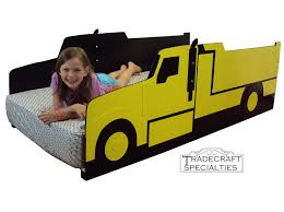 100 Kids Dump Truck Hand Crafted Twin Bed Frame Handcrafted