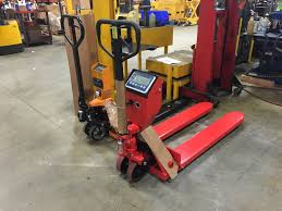 100 Pallet Truck Scale Jack Scale Warehouse Rack And Shelf