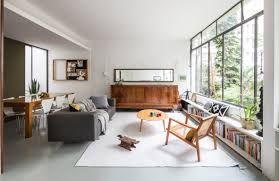 100 Apartment In Sao Paulo Renovated 1950s So Apartment Is Arranged Around