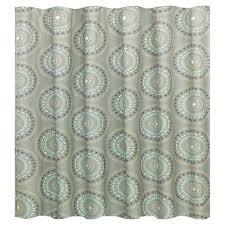 Medallion Shower Curtain Gray Turquoise Room Essentials™ Tar