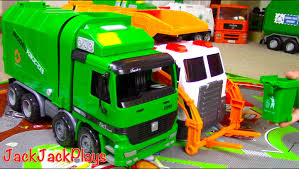 Garbage Truck Videos For Children: Green Kawo Toy UNBOXING - Jack ... Disney Pixar Cars Lightning Mcqueen Toy Story Inspired Children Garbage Truck Videos For L Kids Bruder Garbage Truck To The Trash Pack Series Toys Junk Playset Video Review Trucks For With Blippi Learn About Recycling Medium Action Series Brands Big Orange At The Park Youtube Toy Battle Jumping Ramps Best Toys Photos 2017 Blue Maize Zach The Side Rear Loader Car Rubbish Removal Video For Kids More Of Mattels Stinky Stephanie Oppenheim