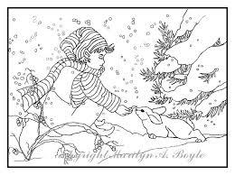 ADULT COLORING PAGES Digital Downloads Fantasy Unicorns Fairy Child Elf