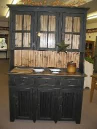 My Favorite Distressed Black Furniture Thinking Of Doing This To Dining Room Hutch And Table