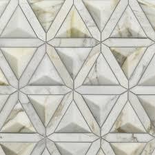 duomo calacatta gold artistic tile