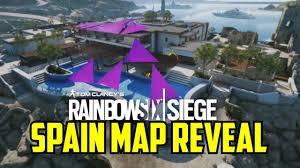 park siege social coastline map reveal spain rainbow six siege velvet shell