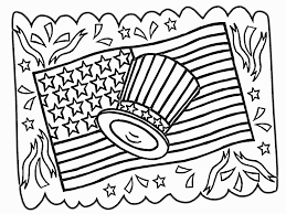 Hello Kitty 4th Of July Coloring Pages