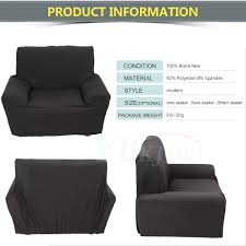 3 Seater Sofa Covers by Usa Ship Stretch Chair Sofa Covers 1 2 3 Seater Protector Couch