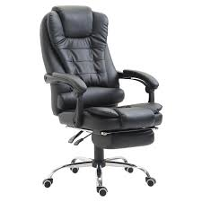 HomCom High Back Reclining PU Leather Executive Office Chair With Footrest  (Black) Maharlika Office Chair Home Leather Designed Recling Swivel High Back Deco Alessio Chairs Executive Low Recliner The 14 Best Of 2019 Gear Patrol Teknik Ambassador Faux Cozy Desk For Exciting Room Happybuy With Footrest Pu Ergonomic Adjustable Armchair Computer Napping Double Layer Padding Recline Grey Fabric Office Chairs About The Most Wellknown Modern Cheap Find Us 38135 36 Offspecial Offer Computer Chair Home Headrest Staff Skin Comfort Boss High Back Recling Fniture Rotationin Racing Gaming