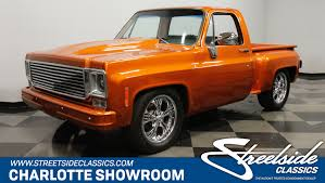 100 Custom C10 Trucks 1977 Chevrolet Streetside Classics The Nations Trusted