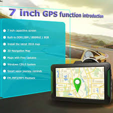 100 Truck Navigation S7 7 Inch Touch Screen Car GPS Portable GPS