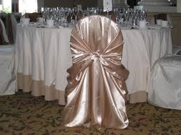 Wedding Bell Talk » Champagne Chaircovers Are So Beautiful ...