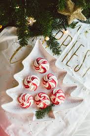 Christmas Tree Meringues by Christmas Meringue Swirls Lazy Sunday