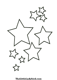 Ideas Collection Star Coloring Pages To Print About Letter Template