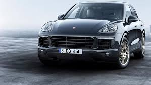 New Porsche Cayenne Platinum Edition