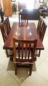 Rhodesian Teak Dining Room Set In Johannesburg OFFERS October
