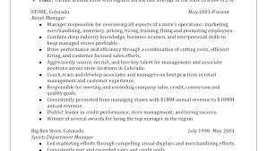 Retail Resume Samples Assistant Store Manager Sample Resumes Template Grocery