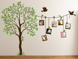 Image Of Cute Family Tree Wall Decal Paint For Bedrooms Decor
