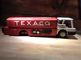 100 Texaco Toy Truck Jet Fuel RIDE ON 24 Pressed Steel