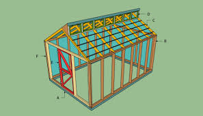 12 X 24 Gable Shed Plans by Shed Plans Vip12 X 24 Shed Plans Free All About Barn Shed Plans