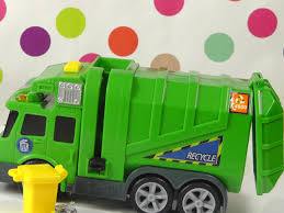 Garbage Trucks Toys For Children Dickie Recycle Truck Toy - YouTube