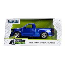 Just Truck Series: 1999 Ford F-150 SVT Lightning (Blue/White Stripes ... 2016f250dhs Diecast Colctables Inc Power Wheels Ford F150 Blue Walmart Canada New Bright 116 Scale Rc Chargers Radio Control Truck Raptor Ertl 1994 Replica Toy Youtube Sandi Pointe Virtual Library Of Collections Amazoncom Revell 124 55 F100 Street Rod Toys Games Greenlight Hobby Exclusive 1974 F250 Monster Bigfoot Toy Pickup Models Hot Sale Special Trucks Ford Raptor Model Hot Wheels 2017 17 129365 Hw 410 Free In Detroit