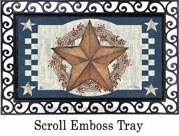 Star Wreath Fall Seasonal Non-Slip Indoor - Outdoor Doormat Rustic Metal Star Decoration License Plate 5point Barn Ideas Wonderful Interior Lights Design With Moravian Wall Decor Gallery Home Salvaged Antique Window Frame With Texas Old Wood 15 Pendant Chandelier Large Antique Mirror By Light Up Your Outdoor Barn Ddingwe Have Large Lighted Tobacco 3d 36 Western Amish Americana Style House 519504 Mason 1 Oil Rubbed Bronze Images Wall 24 Inch Plans Shopping Gadgets