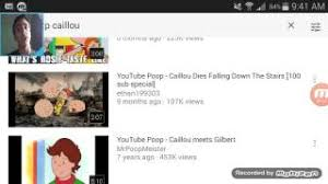 Caillou Dies In The Bathtub by Youtube Caillou Dies Falling Down The Stairs 100 Mp3 Download