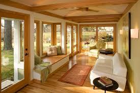 mid century modern sunroom modern family room minneapolis