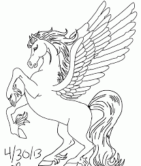 Surprise Cute Pegasus Coloring Pages Beyblade Metal Fury Cosmic For New
