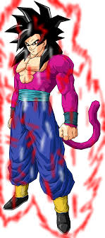 Goran SSJ4 Power Up