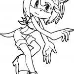 Online Amy Rose Coloring Pages 19 On With