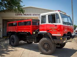 100 Game Warden Truck White Oak Volunteer Fire Department Transforms Military Truck Into