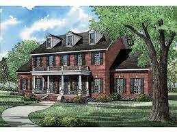 Eplans Georgian House Plan Colonial Treasure 3394 Square Feet