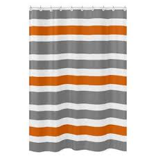 White And Gray Striped Curtains by Buy Grey And White Striped Curtains From Bed Bath U0026 Beyond