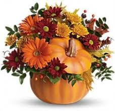 Order Telefloras Country Pumpkin NYC Flower Delivery Delivered From Starbright Floral Design Your Local New York Florist Send