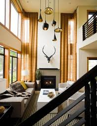 room lighting for living room with high ceiling room design