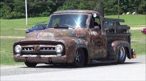 Loud 1956 Ford Rat Rod Truck - YouTube